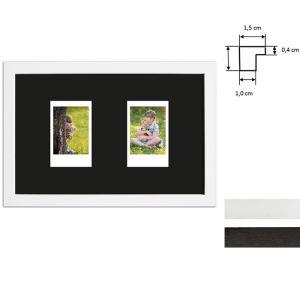 Bilderrahmen für 2 Sofortbilder - Typ Instax Mini