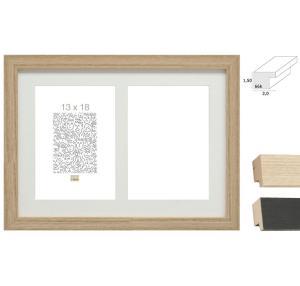 "2er Galerierahmen ""Habay"", vertikal"