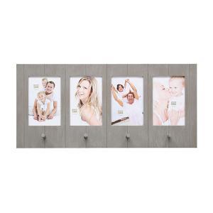 """Galerie-Bilderrahmen """"Ulbeek"""" für 4 Bilder mit Haken"""