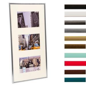 3er Kunststoff-Galerierahmen Puro
