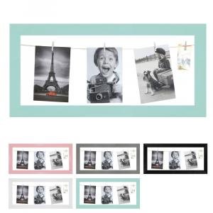 Fotogalerie mit Leine für 4 Bilder