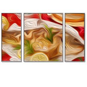 """Triptychon Bilderrahmen-Set Alurahmen """"Quadro"""""""