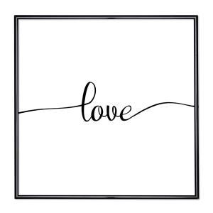 Bilderrahmen mit Spruch - Love 1