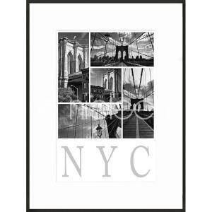 "Gerahmtes Bild ""New York City"" mit Alurahmen C2"