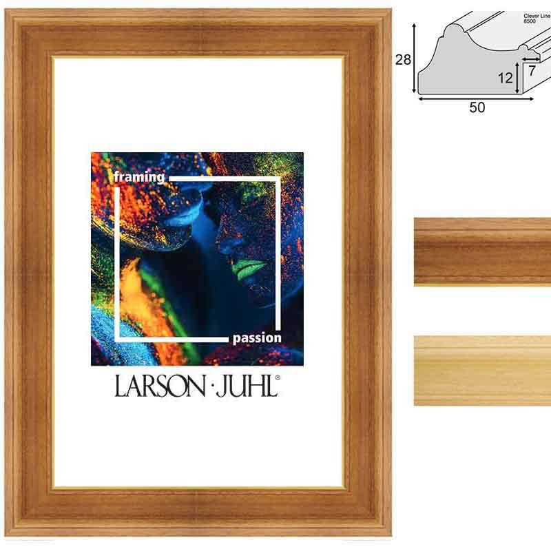 Holz-Bilderrahmen Clever Line 8500 - Sonderzuschnitt