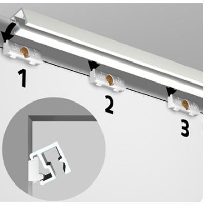 Click & Connet Contour Rail