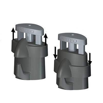 Aufhängehaken Micro Grip Lock 2 mm bis 20kg