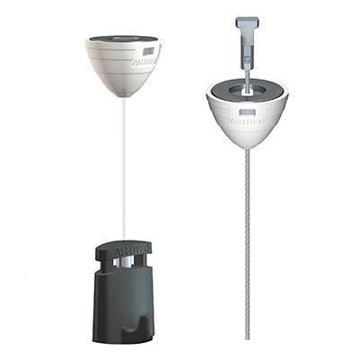 Set Magnetische Deckenbefestigung + Perlonseil Twister + Micro Grip