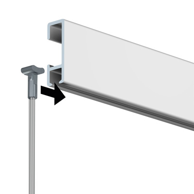 Stahlseil - Solid Slider