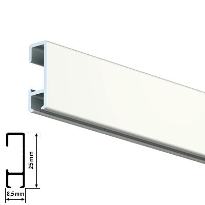 Click Rail - Weiß RAL 9010
