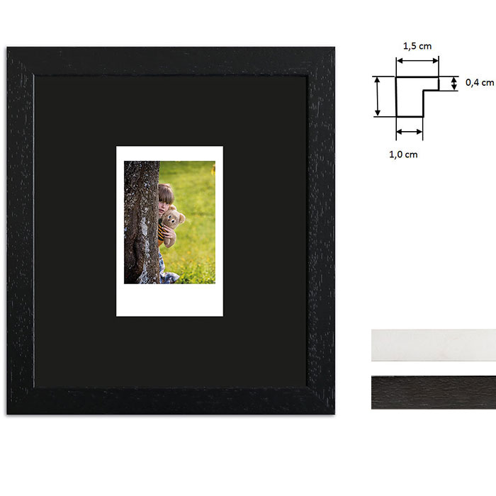Bilderrahmen für 1 Sofortbild - Typ Instax Mini