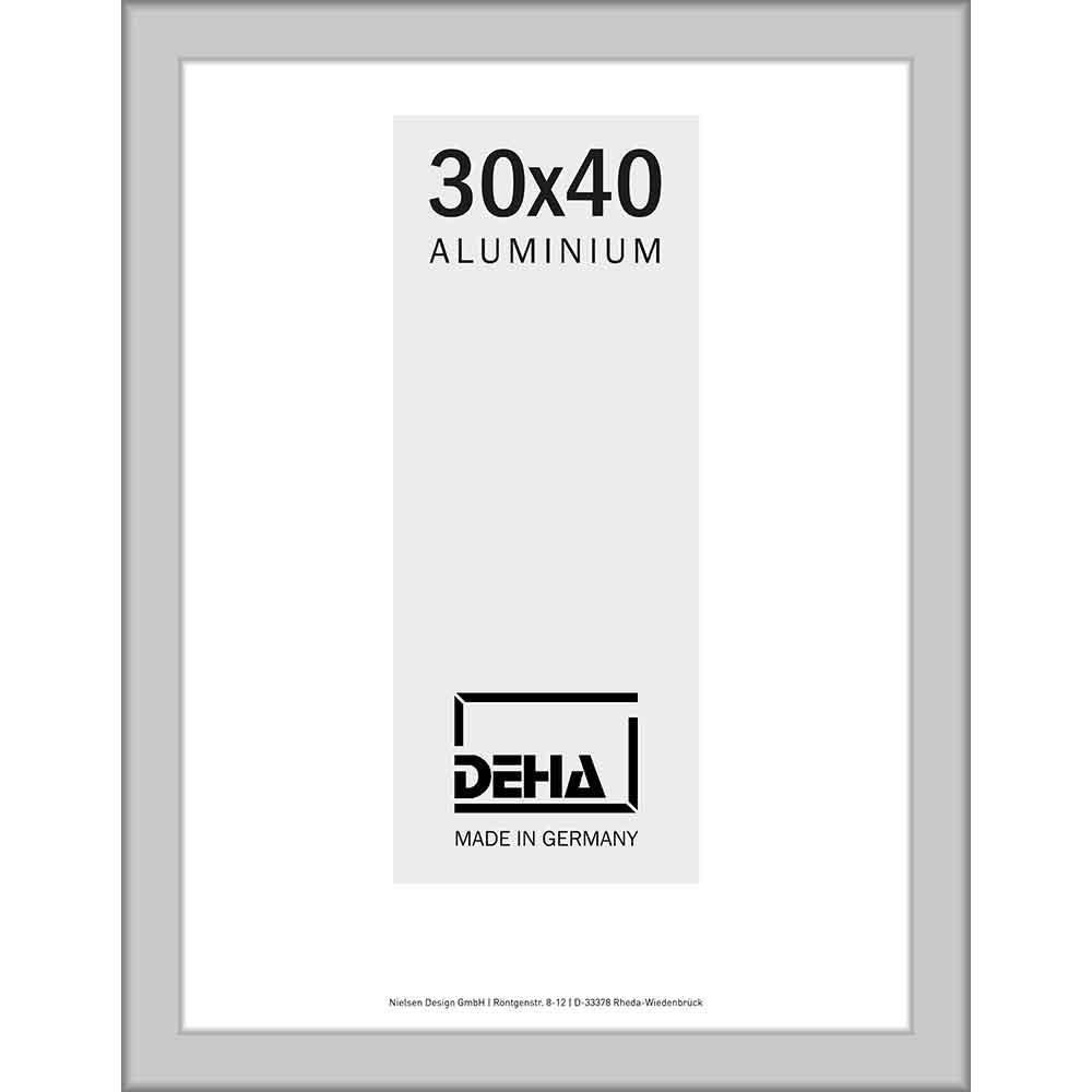 Distanz-Alurahmen Spika XL Sonderzuschnitt Natur matt | Kunstglas