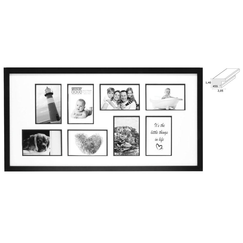 """Galerierahmen """"Corswarem"""" für 8 Bilder"""