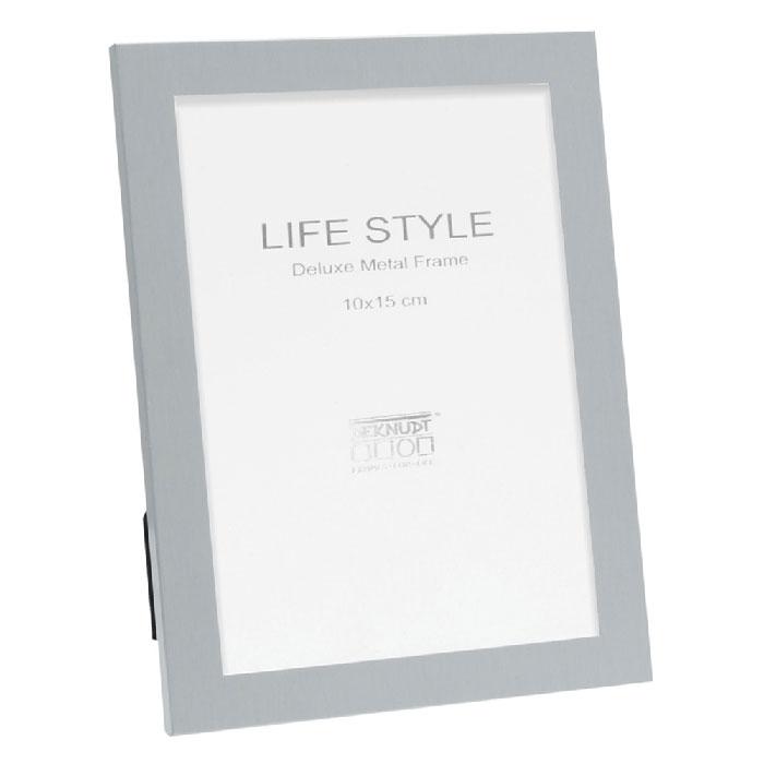 Fotorahmen in Silber matt