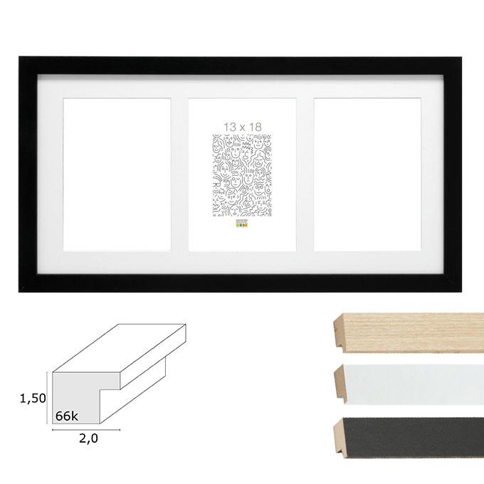 "3er Galerierahmen ""Habay"", vertikal"