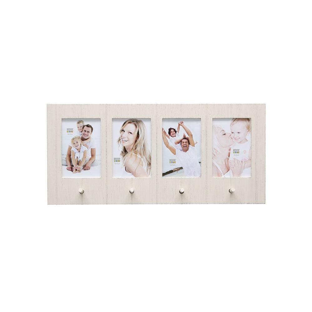 Galerierahmen mit Garderobenhaken