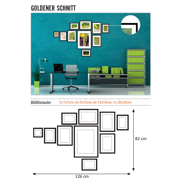 doehnert wandgalerie goldener schnitt. Black Bedroom Furniture Sets. Home Design Ideas