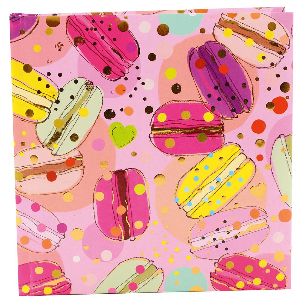 """Goldbuch Poesiealbum """"Macarons"""" 16,5x16,5 cm (96 Seiten ..."""