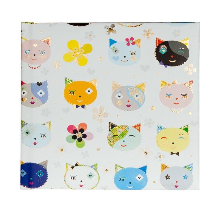 "Poesiealbum ""Cats white"""
