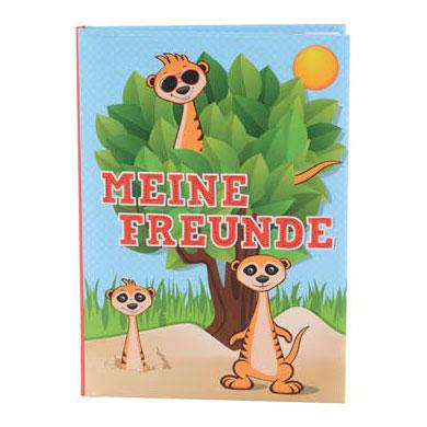 Freundebuch Erdmännchen