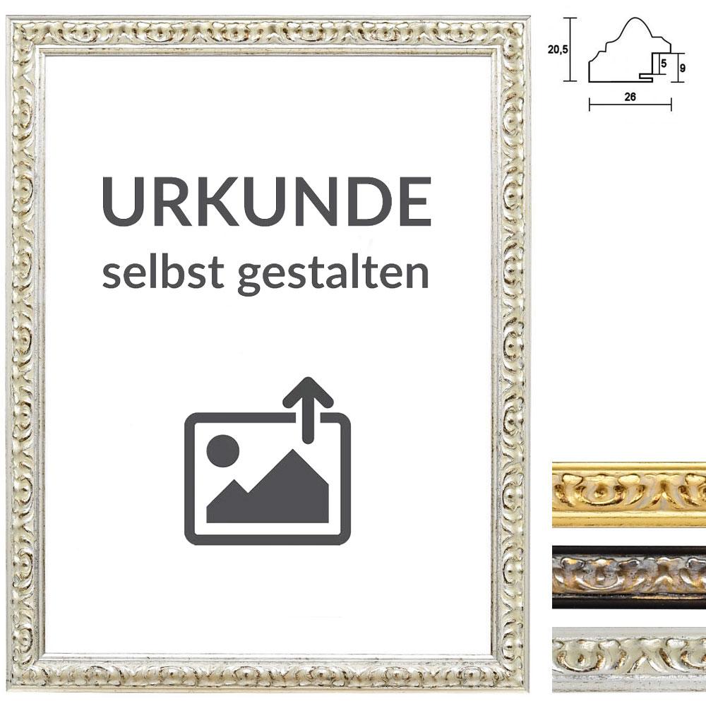 """Barockrahmen """"Remelfing"""" für Urkunden"""