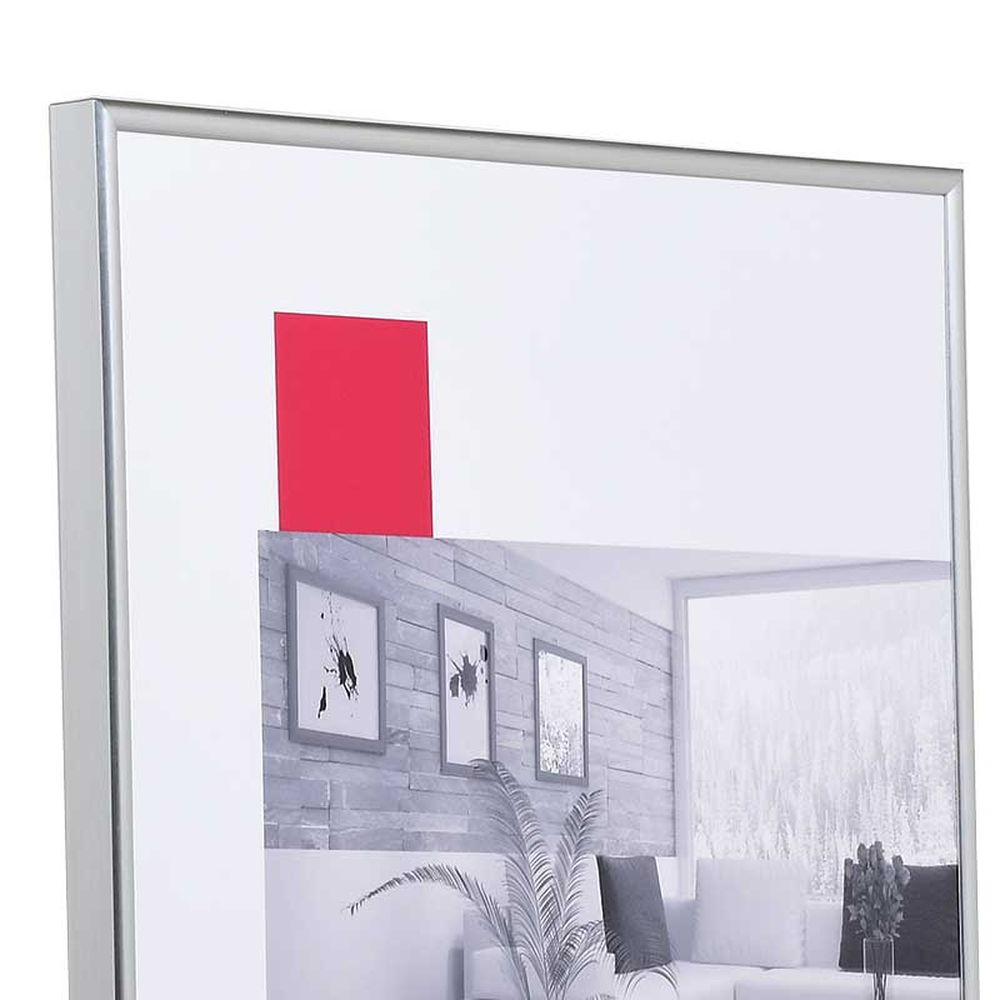 "Kunststoffrahmen ""Art"" 29,7x42 (A3) | silber | Normalglas"