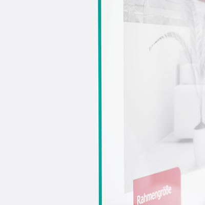 Antireflexglas-Zuschnitt - Entspiegeltes Glas für Bilderrahmen Antireflexglas