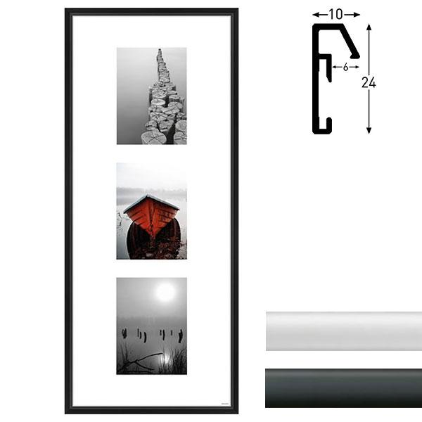nielsen galerie bilderrahmen junior 3 bilder. Black Bedroom Furniture Sets. Home Design Ideas