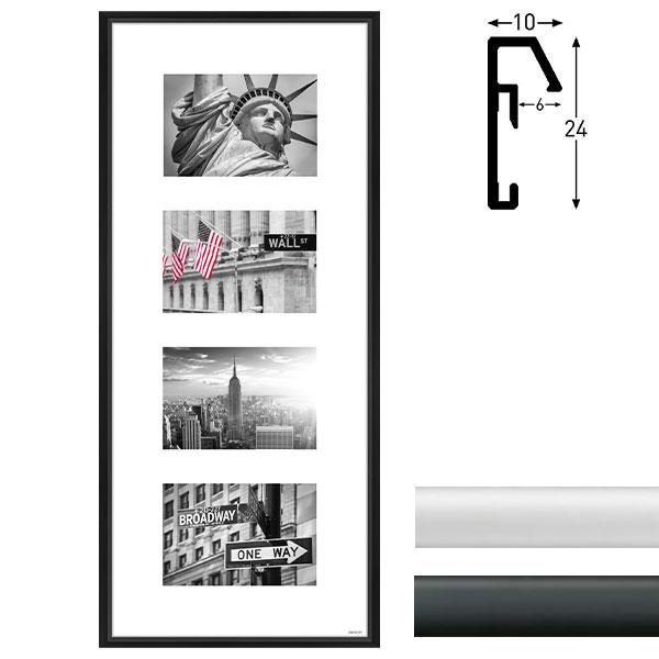 nielsen galerie bilderrahmen junior 4 bilder. Black Bedroom Furniture Sets. Home Design Ideas