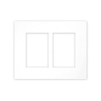 Galerie-Passepartouts 2,5 mm, Außenformat 24x30 cm