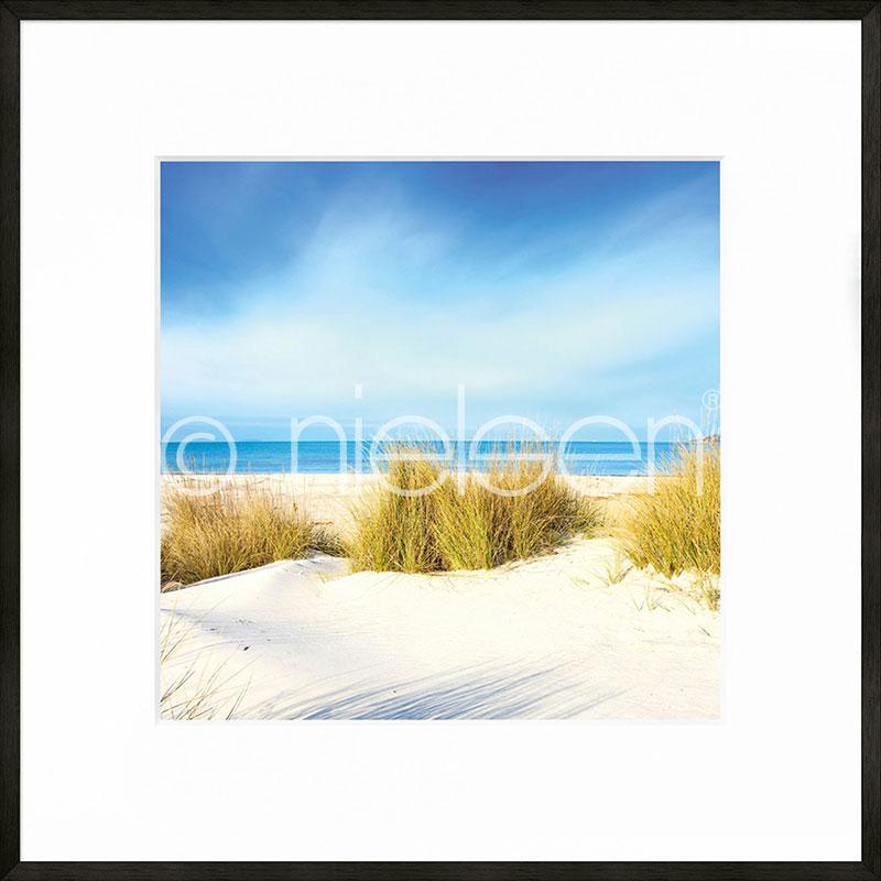 """Gerahmtes Bild """"Dune"""" mit Alurahmen C2"""
