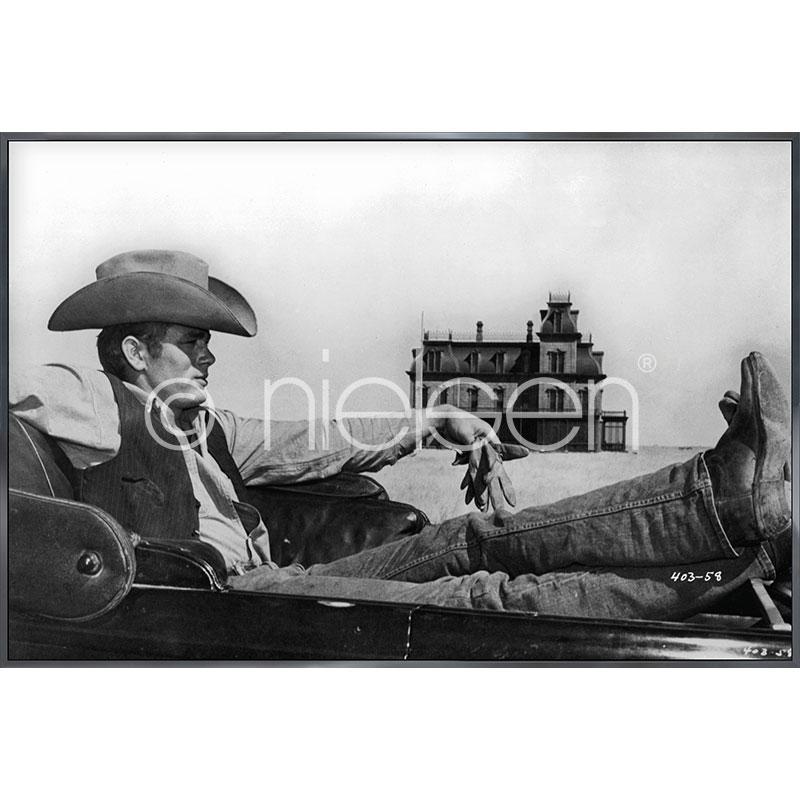 "Gerahmtes Bild ""James Dean"" mit Alurahmen Alpha"