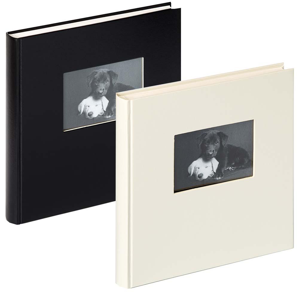 Buchalbum Charm mit 60 weißen Seiten