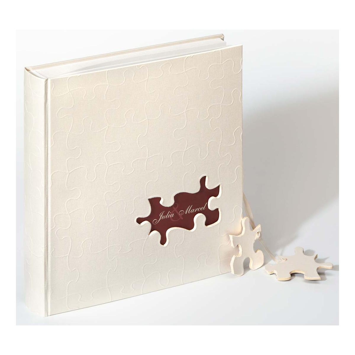 """Hochzeitsalbum """"Puzzle"""" personalisiert"""
