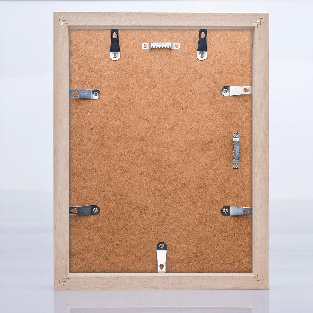 artvera bilderrahmen schwedenleiste ystad aus massivholz 40x40 cm wei gemasert. Black Bedroom Furniture Sets. Home Design Ideas